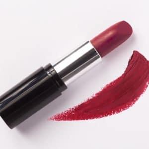 Loesia Le Bordeaux N°102, V- EAN 3770014805027, Loesia maquillage biologique et naturel fabriqué en France. Premier Rouge à lèvres français naturel et hydratant
