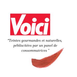 Loesia - Maquillage biologique et naturel fabriqué en France publié dans le magazine Voici