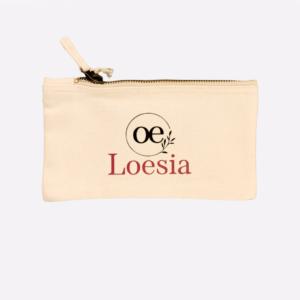 Pochette Loesia en coton imprimé en France