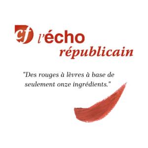 Loesia - Maquillage biologique et naturel fabriqué en France publié dans le Journal l'Echo Républicain