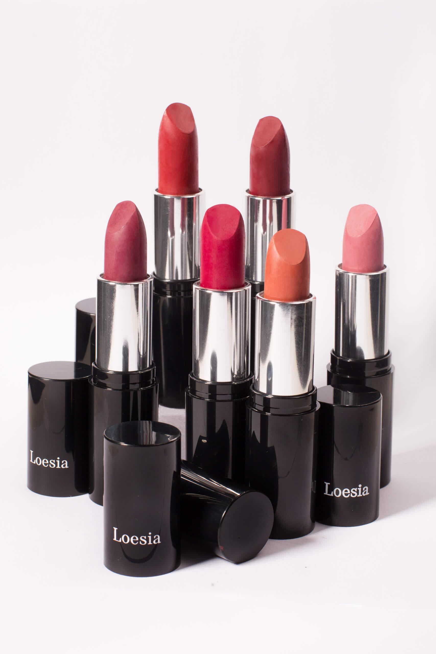 Rouge à Lèvre biologique et naturel Loesia