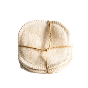 Loesia maquillage biologique et naturel fabriqué en France. lingettes démaquillantes en coton biologique made in France