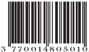 Loesia - Code Barre Rouge N°101 - EAN: 3770014805010 Maquillage biologique et naturel Fabriqué en France. Rouge à lèvres français 100% naturel et hydratants