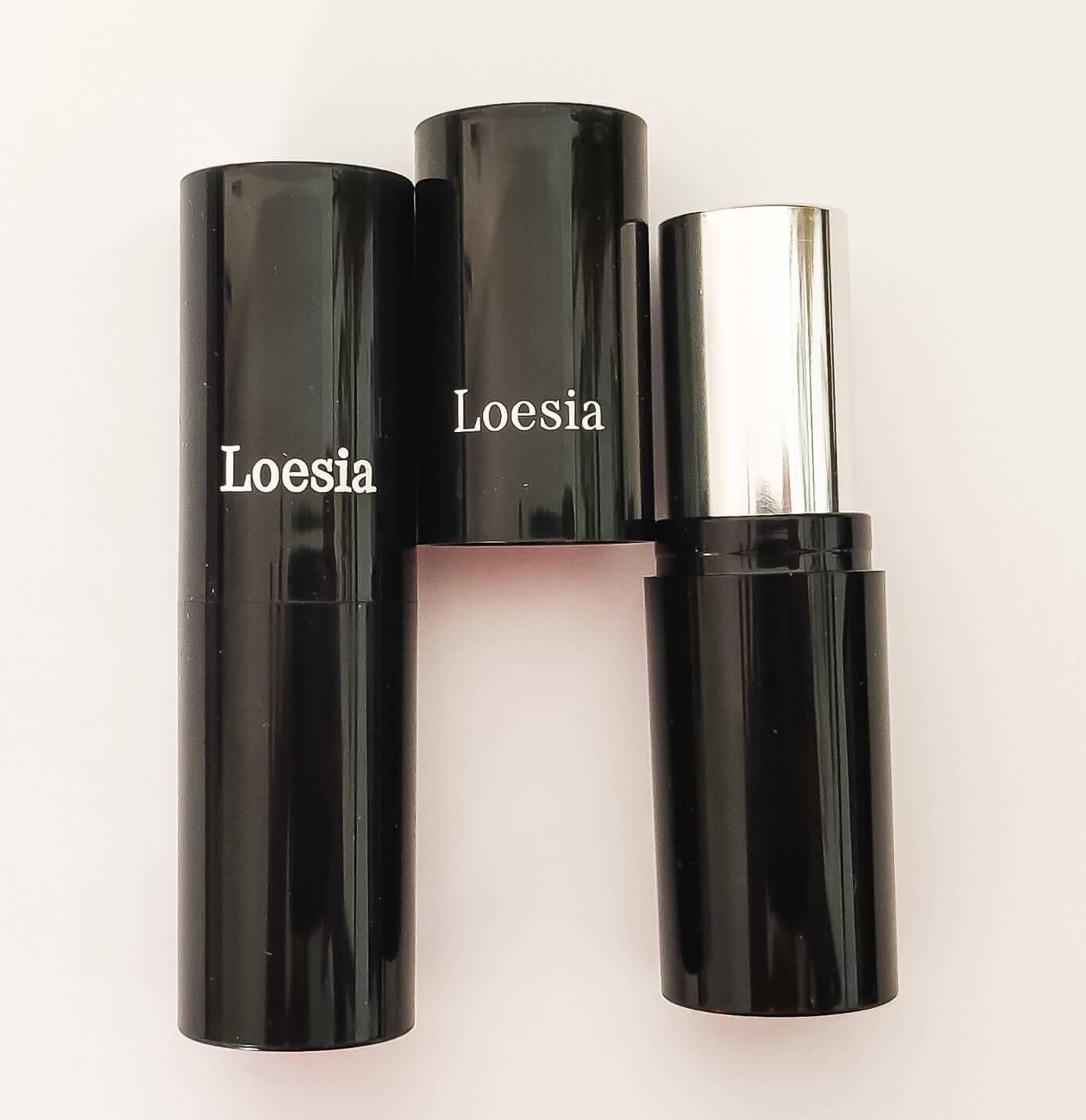 Tube de rouge à lèvres Loesia