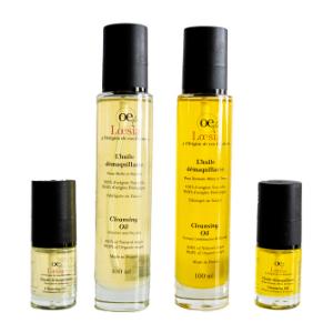 Loesia, cosmétiques naturels et biologiques fabriqués en France. Huile démaquillante 100% naturel et 99,8 huiles précieuses biologiques