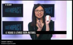 Catherine LAM, fondatrice de Loesia dans l'émission Smart Impact de la Chaîne B Smart, la chaîne des audacieux