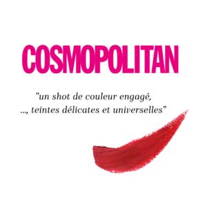 Loesia - Maquillage biologique et naturel fabriqué en France publié dans le magazine Cosmopolitan