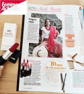 Loesia - Femme Actuelle 24.08.2020 - Page 8 actu mode & beauté