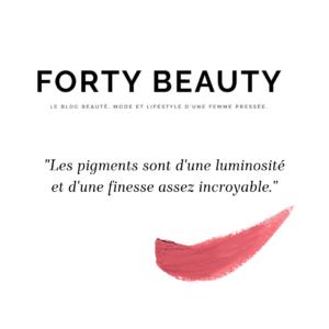 Loesia - Maquillage biologique et naturel fabriqué en France testé par Forty Beauty