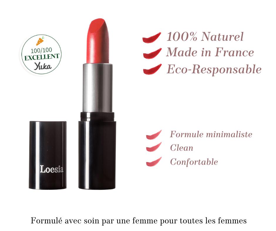 Loesia- Maquillage biologique et naturel fabriqué en France - Valeurs