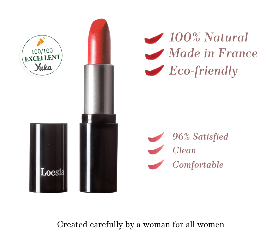 Loesia - Organic and natural makeup made in France - Our values