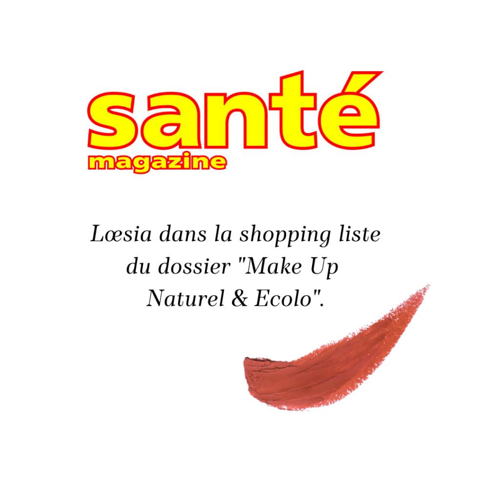 Loesia - Santé Magazine 15/12/2020