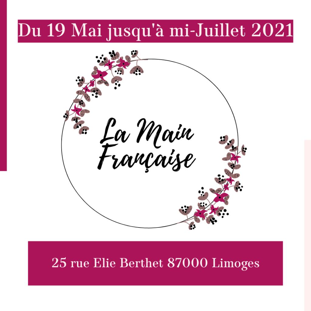 Loesia chez la main française à partir du 19 mai jusqu'à la mi-juillet