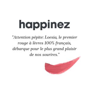 Loesia - Happinez - 01/03/2021