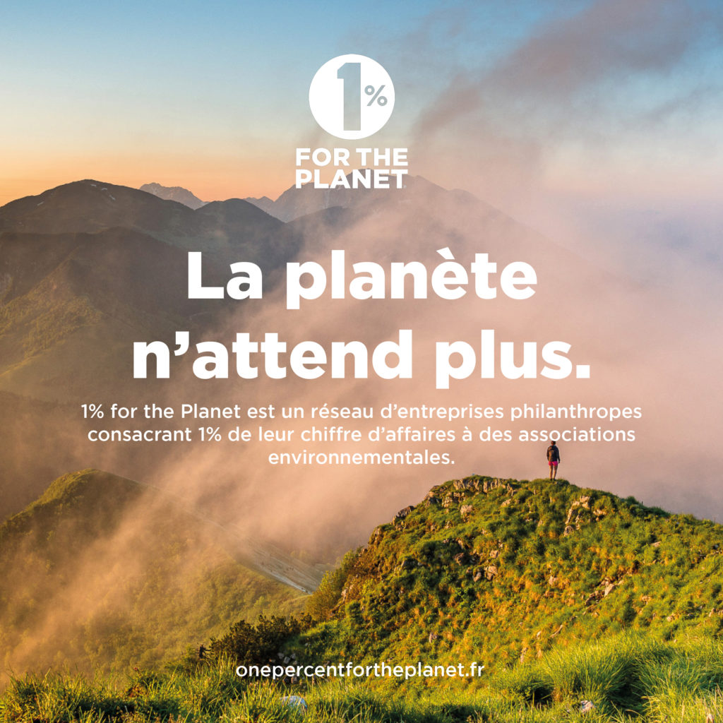 Loesia rejoint le collectif 1% for the Planet