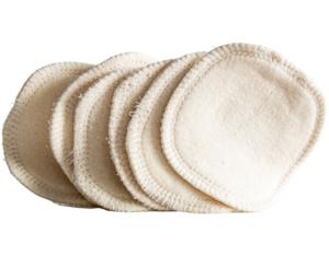 Loesia maquillage biologique et naturel fabriqué en France. Lingettes démaquillantes réutilisables en coton bio fabriquées en France