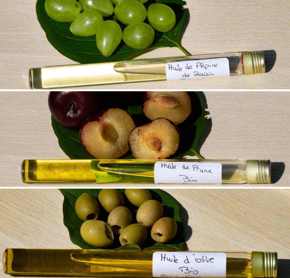 Ingrédient utilisés dans les bâtons de rouge à lèvres Loesia.