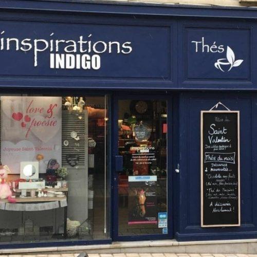 Inspiration Indigo - Distributeur de Loesia, maquillage biologique et naturel made in France , rouge à lèvres français 100% naturel et hydratant.